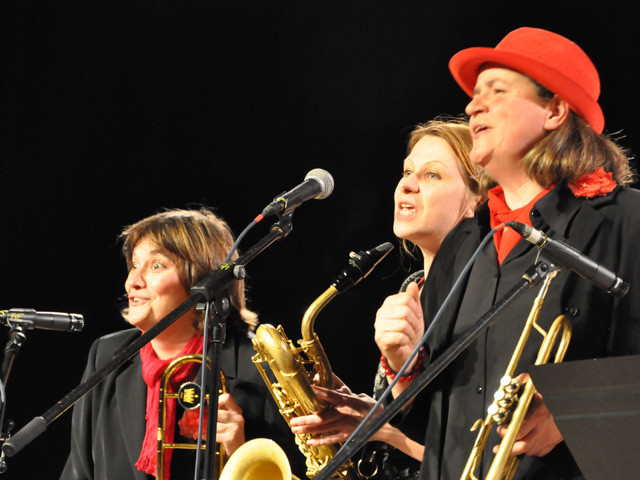 Les Swing Ladies, Concerts