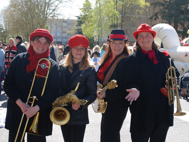 Les Swing Ladies, Fête Quartier